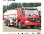 Very Cheap HOWO Oil Tank Truck of 6*4 20-25m3/Fuel Tanker
