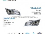 Fog Lamp 21035690 21035692 of HOWO Heavy Truck Parts