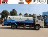 6000L 8000L with Front Flush Side Spray Rear Platform Water Cannon Water Sprinkler Truck