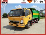 HOWO 4X2 Garbage Compactor Trucks for Sale