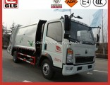 4X2 LHD/Rhd Garbage Truck 5 M3 Cbm Compactor Waste Collector Compressed Refuse Truck
