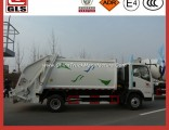 HOWO 4*2 Compactor Garbage Truck