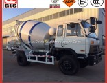 Dongfeng Brand New Cement Mixer Truck for Sale 6 Wheels 5 Cubic Meters Concrete Mixer Truck