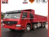 HOWO Dump Truck 8X4 Truck with 12 Wheels