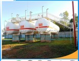 Factory  50cbm LPG Gas Tank for LPG Plant Carbon Steel LPG Tank for Storage LPG Gas Tanks Liquid