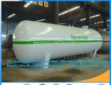 Newest Horizontal Propane Gas Tank Liquefied Gas Storage Tank Cooking Gas Tanker Horizontal LPG Tank