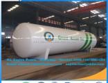 Clw 60000L Horizontal Pressure Vessel LPG Tanker LPG Storage Tanker