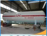 50m3 LPG Storage Gas Tank Price Liquid Propane Tank Gas Pressure Vessel Tank LPG 20ton Storage Tank