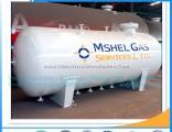 Q345r Material 50000 Liter LPG Storage Tank LPG Tanker  Srandard 25mt Horizontal LPG Gas Tank Pr