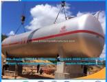Standard BV Certified Horizontal LPG Storage Tank 60m3 LPG Tanker 60000L Gas Tank Factory 60 Cb