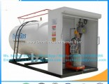 5cbm 2.5t Small LPG Cylinder Filling Plant Mini Home Cooking Gas Cylinder Filling Skid LPG Skid Tank