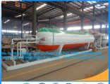 Mobile 10t LPG Filling Station Mobile LPG Tank with Skid 20cbm LPG Skid Filling Plant Mobile LPG Pla
