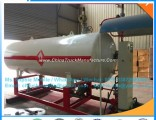 High Quality Steel Structure Gas Filling Station 30cbm 15mt LPG Skid Station with Gas Dispenser LPG