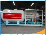 China Manufacture 5000L LPG Storage and Filling Station LPG Gas Plant Portable LPG Gas Filling Bottl
