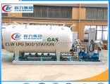 Hot Sale Nigeria Above Ground Auto LPG Skid Tank Filling Station LPG Skid Tank LPG Filling Station G