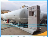 5~120cbm ASME LPG Skid Tank Station Mobile Gas Filling Station