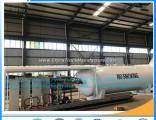 Nigeria 25ton 10metric Ton 25000liters LPG Gas Tank Mobile Filling Station LPG Filling Station Mobil