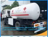 Brand New 15000 Liter Dongfeng 4X2 Mobile LPG Dispenser Truck LPG Gas Tanker Truck LPG Transportatio