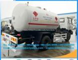 Dongfeng 4*2 LPG Propane Road Tank Bobtail Truck Export Africa