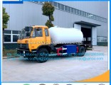 LPG Bobtail Road Tanker with Mobile Dispenser LPG Gas 15000litres Bobtail Tank Truck for Cooking Gas