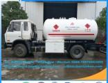 New Condition Q345r 15cbm LPG Tank Truck ISO 6wheels 6t LPG Rigid Truck LPG Gas Tanker Truck for Sal
