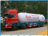 Manufacture Direct Sales Dongfeng 8X4 15mt 34.5cbm 35.5m3 Liquid Gas Transportation Tanker LPG Trans