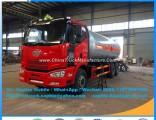 China Hotsales FAW 6X4 25cbm 10mt Gas Tanker Truck LPG Tank Toroidal Pressure Vessel Truck Car Gas T
