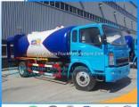 FAW 4X2 LPG Auto Filling Station LPG Auto Gas Kit LPG Autogas Stations LPG Bobtail Tank Truck Automo