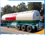 Big Capacity 59.52m3 Mobile Pressure Vessel LPG Tanker Cooking Gas Trailers