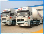 Good Sales 24000kg 56000L LPG Tank Liquid Gas Tank Semitrailer Cooking Gas Tank Trailer Cooking Gas