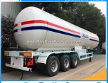 25mt Lp Gas Tanks Tri-Axles LPG Tanker Semi Trailer for Africa Market LPG Trailers for Sale Kenya Tr