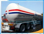 Good Price China New Make 25mt 59500liters LPG Bullet Trailer Propylene Delivery Trailer LPG Gas Del