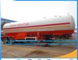 49.6m3 21mt Liquid Gas Tanker Semitrailer LPG Trailer Tank to Kyrghyzstan LPG Semitrailer LPG Transo