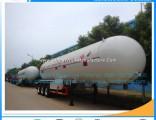 Hot Sales 6wheels 56m3 LPG Semitrailer LPG Transort Trailer Tanker Liquid Gas Semitrailer LPG Tanker