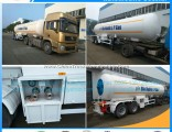 Factory Sales 58500L Tanker Gas LPG Tank Trailer with All Acessory Filling Propane Tank Semi Trailer