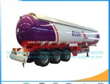3axles 56000L 25mt LPG Gas Transportation Tank Trailer S516 Material LPG Tank LPG Semi Trailer