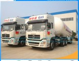 China Supplier Tri-Axle 56m3 LPG Gas Tank Transport Semi Trailer for Nigeria