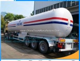 3 Fuwa /BPW Axles 56000 Liters 14580 Gallons GLP LPG Tank Trailer LPG Cooking Gas Tank LPG Semi Trai