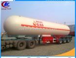 Chengli 56cbm LPG Tank Auto LPG Gas Trailer 25ton Propane Semi Trailer LPG Trailer Tanker Cooking Tr