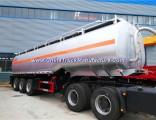 Fuel Tank Trailer Aluminum Alloy Fuel Tanker 3 Axle Stainless Steel Oil Tanker Trailer