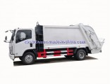 8 M3 Isuzu Rear Loader Garbage Truck Hot Selling