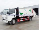 8cbm Japan Used Hydraulic System Waste Management Garbage Compactor Truck Isuzu