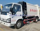 Isuzu 4X2 5cbm Diesel Compressed Garbage Truck Refuse Compactor Truck