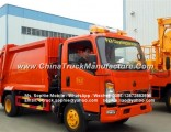 Factory Price Sinotruk HOWO 4000kg Hydraulic Garbage Compactor Truck