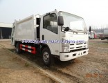 Euro4 Middle Duty Isuzu Rear Self Load 8 Tons Compactor Garbage Truck