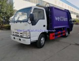 Isuzu Japan Truck Mounted 5000 Liters Garbage Compactor Vehicle