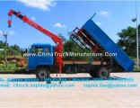 Forland Tipper with Crane 4X2 Mini Dump Truck with Crane Pickup Truck Crane