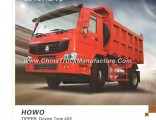 290HP Sinotruk HOWO Truck Tipper 4X2 6wheels
