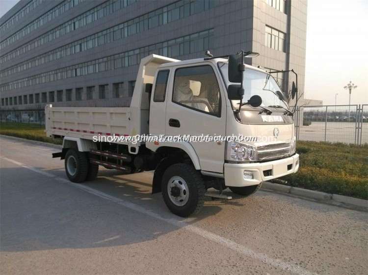 5 Tons 4X4 Tipper Truck