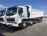 336HP Sinotruk HOWO A7 8X4 Dump Truck 12wheels